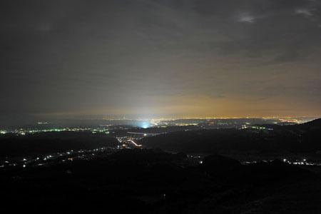 妙義山の夜景