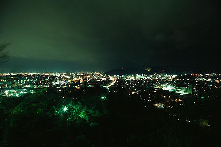 妙見山の夜景