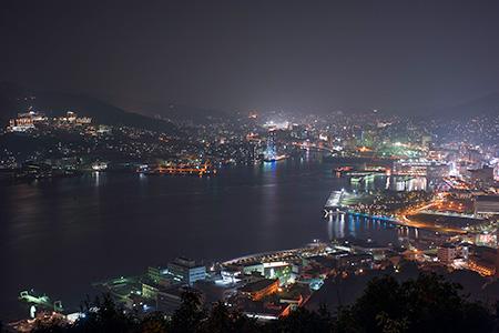 鍋冠山公園の夜景
