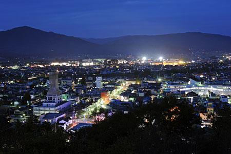 鍋倉公園の夜景
