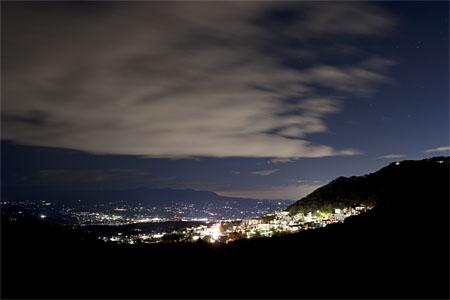 長峰展望台の夜景