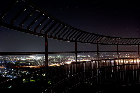 長根山の夜景