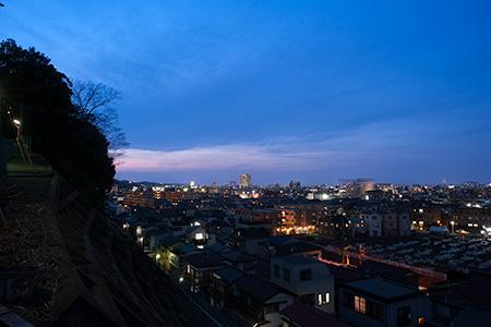 長尾の夜景