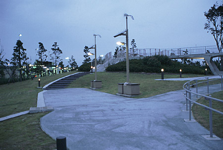 湾岸長島PAの夜景