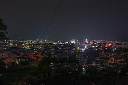 永田平公園の夜景
