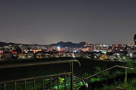 長津田みなみ台公園の夜景