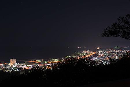 名護中央公園 南展望台の夜景
