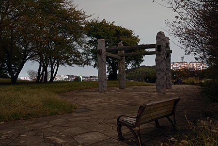 中川八幡山公園の夜景