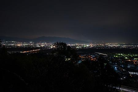 中之郷の夜景