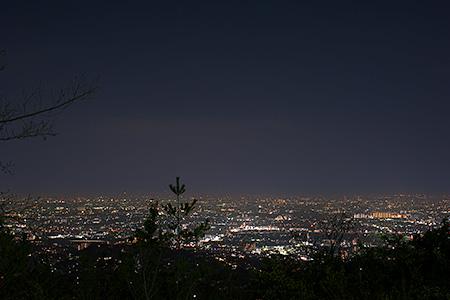 中山桜台公園の夜景