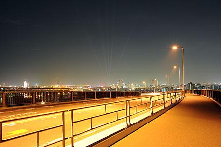 なみはや大橋の夜景