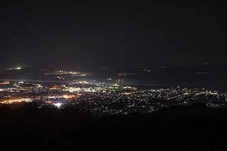 七尾城山展望台