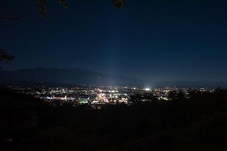 南向台の夜景