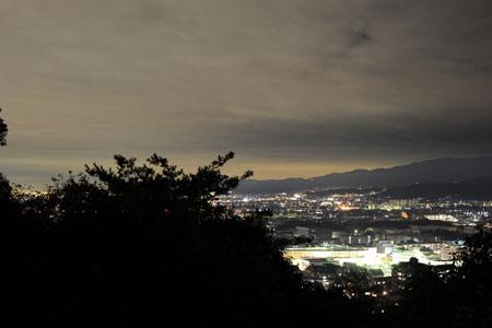 双ヶ丘の夜景
