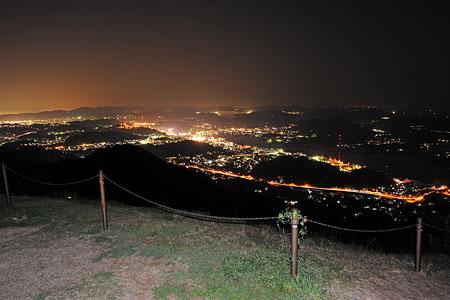 鳴滝山公園の夜景