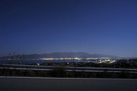 県道65号線 豊田の夜景