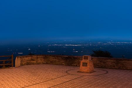 那須高原展望台の夜景