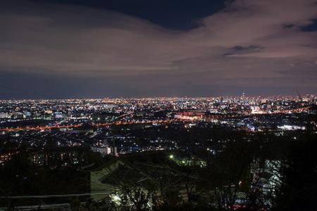 高槻ネオポリスの夜景