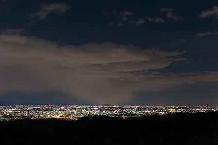 ホテルニュー熱海近くの夜景