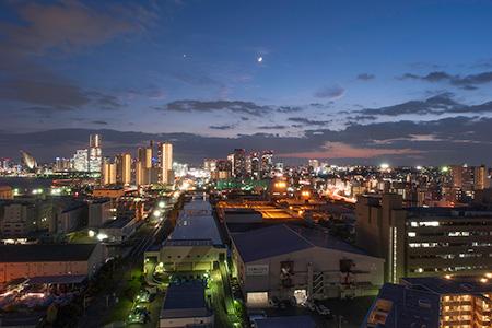 ニューステージ横浜 スカイラウンジの夜景