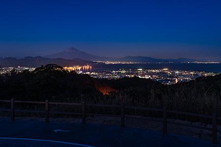 日本平 吟望台の夜景