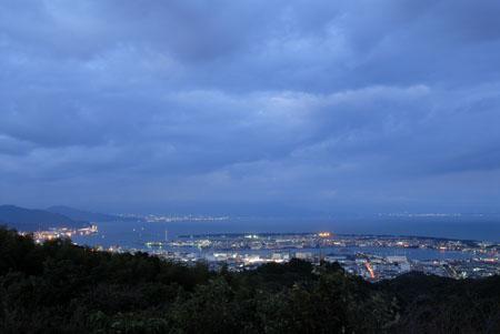 日本平 東展望台の夜景