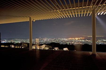 日本平ホテル スカイテラスの夜景