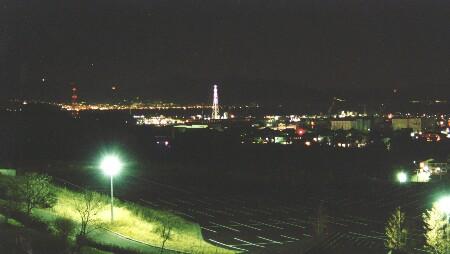 日本平運動公園の夜景