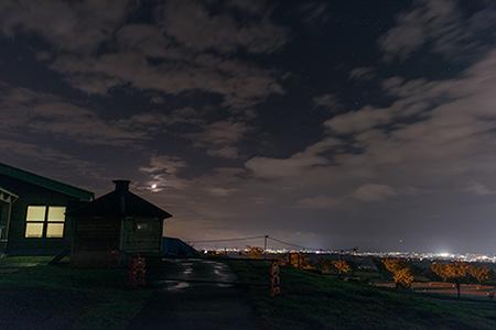 くろべ牧場 まきばの風の夜景