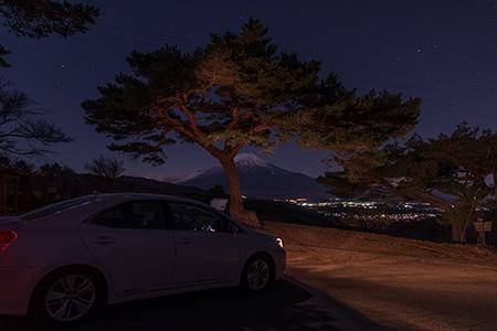 二十曲峠の夜景