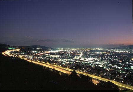 西平畑公園の夜景