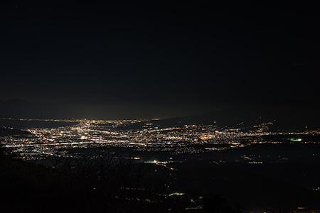西丹那駐車場 伊豆スカイラインの夜景