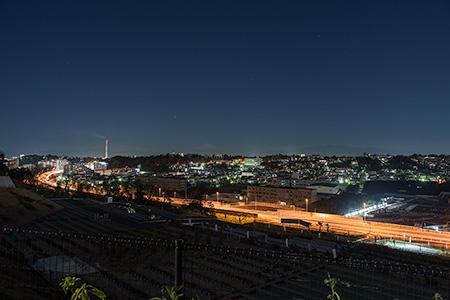 西富の夜景