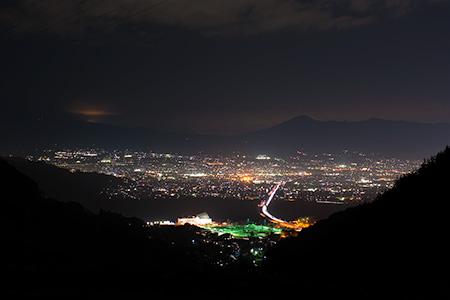 野田山の夜景