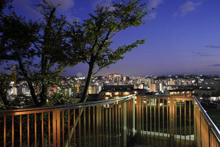 野毛山展望台の夜景