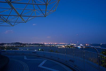 野島公園の夜景