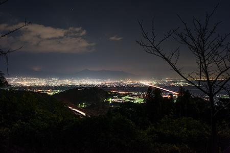 狼煙場の夜景