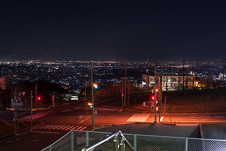 能勢北5号公園の夜景