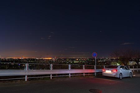 能見台の夜景