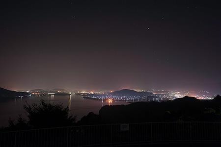 のぞみ公園の夜景