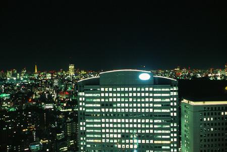 新宿NSビルの夜景