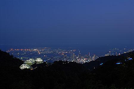 神戸布引ハーブ園の夜景