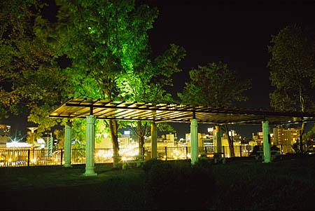 幣舞公園の夜景