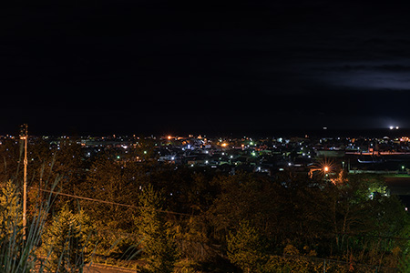 オーシャンヒルズの夜景