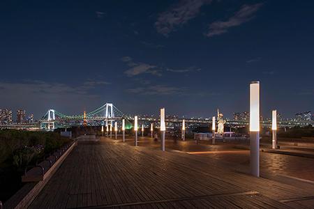 お台場海浜公園の夜景