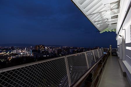 小田原城の夜景