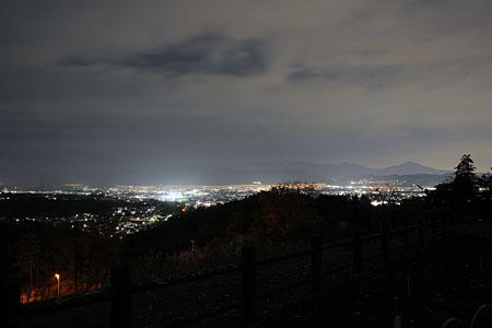 おだわら諏訪の原公園の夜景