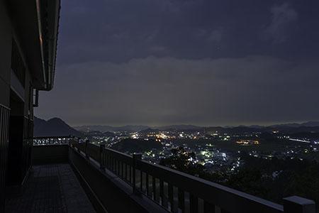 小倉公園の夜景