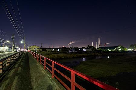 老松橋の夜景