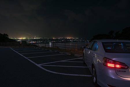 老の山公園の夜景